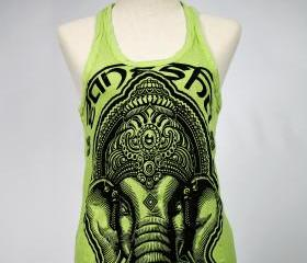 Ganesha Tank top Yoga Singlet Buddha Hamsa T-shirt Boho Om Elephant
